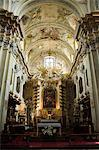 Church of St. Anne's, one of Poland's most beautiful Baroque churches, Old Town District (Stare Miasto), Krakow (Cracow), UNESCO World Heritage Site, Poland, Europe                                     Stock Photo - Premium Rights-Managed, Artist: Robert Harding Images, Code: 841-02992816