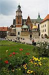 Wawel Cathedral, Royal Castle area, Krakow (Cracow), UNESCO World Heritage Site, Poland, Europe                                                                                                          Stock Photo - Premium Rights-Managed, Artist: Robert Harding Images, Code: 841-02992853