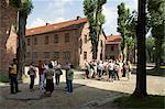 Auschwitz concentration camp, now a memorial and museum, UNESCO World Heritage Site, Oswiecim near Krakow (Cracow), Poland, Europe                                                                       Stock Photo - Premium Rights-Managed, Artist: Robert Harding Images, Code: 841-02992866