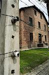 Auschwitz concentration camp, now a memorial and museum, UNESCO World Heritage Site, Oswiecim near Krakow (Cracow), Poland, Europe                                                                       Stock Photo - Premium Rights-Managed, Artist: Robert Harding Images, Code: 841-02992877