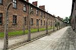 Auschwitz concentration camp, now a memorial and museum, UNESCO World Heritage Site, Oswiecim near Krakow (Cracow), Poland, Europe                                                                       Stock Photo - Premium Rights-Managed, Artist: Robert Harding Images, Code: 841-02992880