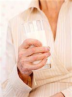 Drinking milk Stock Photo - Premium Royalty-Freenull, Code: 679-02994799