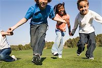 Children playing Stock Photo - Premium Royalty-Freenull, Code: 679-02996164