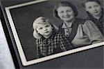 Family Photograph in Photo Album Stock Photo - Premium Rights-Managed, Artist: Christina Krutz          , Code: 700-03003483