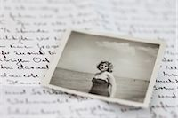 Letter and Photograph of Woman from 1950s Stock Photo - Premium Rights-Managednull, Code: 700-03003491