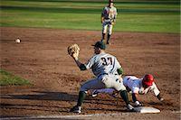 professional baseball game - Baseball Game Stock Photo - Premium Rights-Managednull, Code: 700-03004031