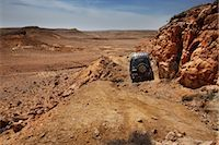 SUV in the Negev Desert, Israel Stock Photo - Premium Royalty-Freenull, Code: 600-03004280