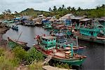 Fishing Boats, Phu Quoc Island, Vietnam Stock Photo - Premium Royalty-Free, Artist: Pierre Arsenault         , Code: 600-03004318