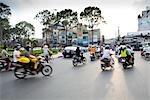 Motorcyclists, Ho Chi Minh City, Vietnam