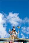 Figure on Hindu Temple, Mauritius Stock Photo - Premium Royalty-Free, Artist: Arian Camilleri          , Code: 600-03004995