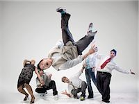 Breakdancers Stock Photo - Premium Rights-Managednull, Code: 700-03005077