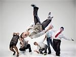 Breakdancers Stock Photo - Premium Rights-Managed, Artist: Brian Kuhlmann           , Code: 700-03005077