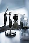 Still Life of Shaving Kit                                                                                                                                                                                Stock Photo - Premium Rights-Managed, Artist: Ron Fehling              , Code: 700-03014808