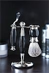 Still Life of Shaving Kit                                                                                                                                                                                Stock Photo - Premium Rights-Managed, Artist: Ron Fehling              , Code: 700-03014811