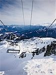 Chair Lifts, Whistler Mountain, Whistler, British Columbia, Canada Stock Photo - Premium Rights-Managed, Artist: Matthew Plexman          , Code: 700-03014823