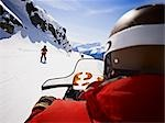 Whistler Mountain Ski Patrol, Whistler, British Columbia, Canada                                                                                                                                         Stock Photo - Premium Rights-Managed, Artist: Matthew Plexman          , Code: 700-03014828