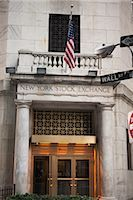 stock exchange building - Wall Street, New York City, New York, USA Stock Photo - Premium Rights-Managednull, Code: 700-03017146