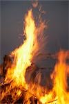 Bonfire Stock Photo - Premium Royalty-Free, Artist: photo division           , Code: 600-03017276