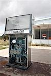 Gas Pump at Abandoned Gas Station, Marathon, Texas, USA