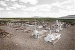 Cemetery, Presidio, Presidio County, West Texas, Texas, USA Stock Photo - Premium Rights-Managed, Artist: Mark Peter Drolet        , Code: 700-03017492