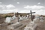 Cemetery, Presidio, Presidio County, West Texas, Texas, USA Stock Photo - Premium Rights-Managed, Artist: Mark Peter Drolet        , Code: 700-03017508