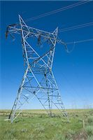 Hydro Towers in the Colorado Prairies, USA Stock Photo - Premium Rights-Managednull, Code: 700-03017667
