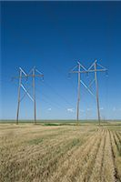 Hydro Towers in the Colorado Prairies, USA Stock Photo - Premium Rights-Managednull, Code: 700-03017670