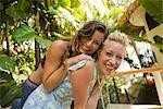 Friends Having Fun at Resort, Punta Burros, Nayarit, Mexico