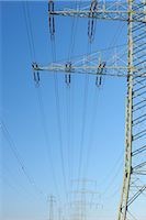 Power Lines                                                                                                                                                                                              Stock Photo - Premium Rights-Managednull, Code: 700-03018070