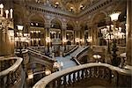 Grand Staircase, Opera National de Paris, Palais Garnier, Paris, Ile-de-France, France                                                                                                                   Stock Photo - Premium Rights-Managed, Artist: Tomasz Rossa             , Code: 700-03018109