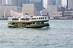 Star Ferry,Hong Kong                                                                                                                                                                                     Stock Photo - Premium Rights-Managed, Artist: Oriental Touch           , Code: 855-03021819