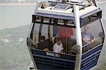 Cable car at Lantau Island,Hong Kong                                                                                                                                                                     Stock Photo - Premium Rights-Managed, Artist: Oriental Touch           , Code: 855-03022218