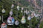 Cable car at Ocean Park,Hong Kong                                                                                                                                                                        Stock Photo - Premium Rights-Managed, Artist: Oriental Touch           , Code: 855-03022233