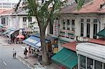 Indigenous architecture in Katong area,Singapore                                                                                                                                                         Stock Photo - Premium Rights-Managed, Artist: Oriental Touch           , Code: 855-03024965