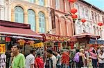 Chinatown,Singapore                                                                                                                                                                                      Stock Photo - Premium Rights-Managed, Artist: Oriental Touch           , Code: 855-03025001