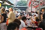 Smith Street (food street) in Chinatown,Singapore                                                                                                                                                        Stock Photo - Premium Rights-Managed, Artist: Oriental Touch           , Code: 855-03025025
