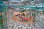 Changi airport terminal 3,Singapore                                                                                                                                                                      Stock Photo - Premium Rights-Managed, Artist: Oriental Touch           , Code: 855-03025133