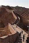 Badaling Great Wall,Beijing,China                                                                                                                                                                        Stock Photo - Premium Rights-Managed, Artist: Oriental Touch           , Code: 855-03025845