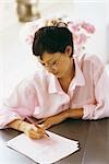 Woman writing love letter Stock Photo - Premium Royalty-Free, Artist: Mark Leibowitz, Code: 632-03027032