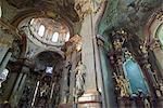 Interior of St. Nicholas Church, Mala Strana, Prague, Czech Republic, Europe                                                                                                                             Stock Photo - Premium Rights-Managed, Artist: Robert Harding Images    , Code: 841-03031389