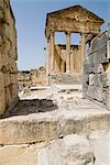 Ancient Roman city of Thugga (Dougga), UNESCO World Heritage Site, Tunisia, North Africa, Africa                                                                                                         Stock Photo - Premium Rights-Managed, Artist: Robert Harding Images    , Code: 841-03031609