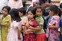 School girls, Swayambhunath (Monkey Temple), Kathmandu, Nepal, Asia                                                                                                                                      Stock Photo - Premium Rights-Managednull, Code: 841-03031815