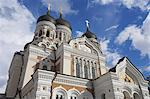 Alexander Nevsky Cathedral, Russian Orthodox church, Toompea Hill, Tallinn, Estonia, Baltic States, Europe                                                                                               Stock Photo - Premium Rights-Managed, Artist: Robert Harding Images    , Code: 841-03032234