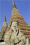 Wat Po (Wat Phra Chetuphon) (Wat Pho), Bangkok, Thailand, Asia                                                                                                                                           Stock Photo - Premium Rights-Managed, Artist: Robert Harding Images    , Code: 841-03033183