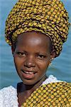 Bambara woman, Segoukoro, Segou, Mali, Africa