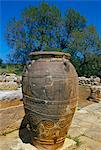Minoan jar, Malia, island of Crete, Greece, Mediterranean, Europe                                                                                                                                        Stock Photo - Premium Rights-Managed, Artist: Robert Harding Images    , Code: 841-03033580