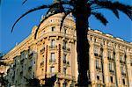 Carlton Hotel, Boulevard de la Croisette, Cannes, Alpes-Maritimes, French Riviera, Provence, France, Europe