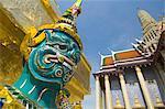 Figurehead,Grand Palace,Bangkok,Thailand,Southeast Asia,Asia