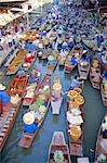 Floating Market,Bangkok,Thailand                                                                                                                                                                         Stock Photo - Premium Rights-Managed, Artist: Robert Harding Images    , Code: 841-03035685