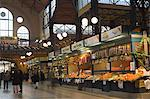 Fruit,food stands at Central Market,Budapest,Hungary,Europe                                                                                                                                              Stock Photo - Premium Rights-Managed, Artist: Robert Harding Images    , Code: 841-03035735
